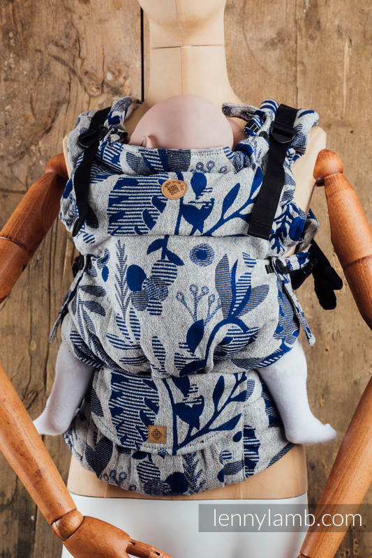 LennyUpGrade Carrier, Standard Size, jacquard weave, (38% merino wool, 34% noil silk, 28% combed cotton) - EXPERIMENT no.19 #babywearing