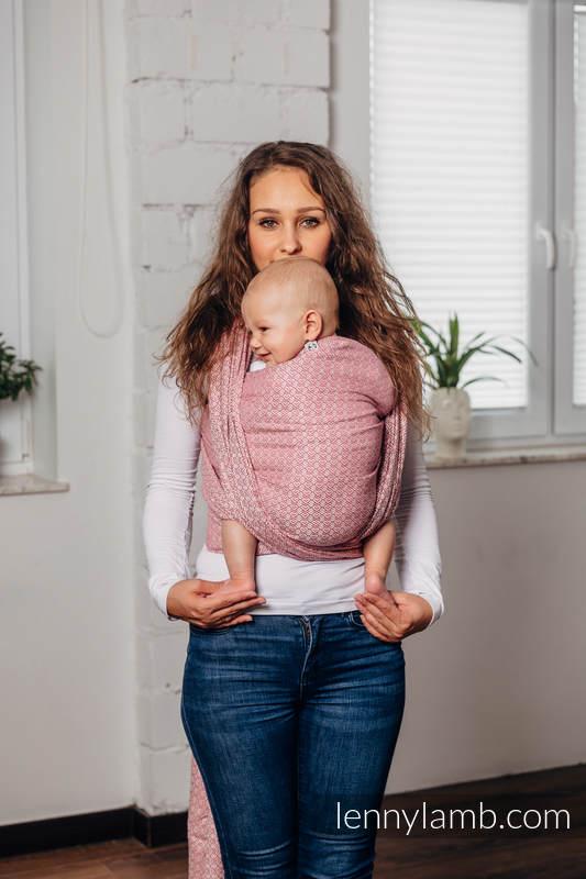 Mein Zweites Tragetuch - LITTLELOVE - MORGANITE, Jacquardwebung (100% Baumwolle) - Größe M #babywearing