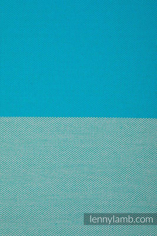 Moja pierwsza chusta do noszenia dzieci - LABRADORYT, tkana splotem skośno-krzyżowym (100% bawełna) - rozmiar M #babywearing