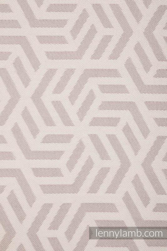 Fular Línea Básica - ALABASTER, tejido Jacquard, 100% algodón, talla M (grado B) #babywearing