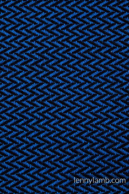 Fular Línea Básica - COBALT, tejido de espiga, 100% algodón, talla M (grado B) #babywearing