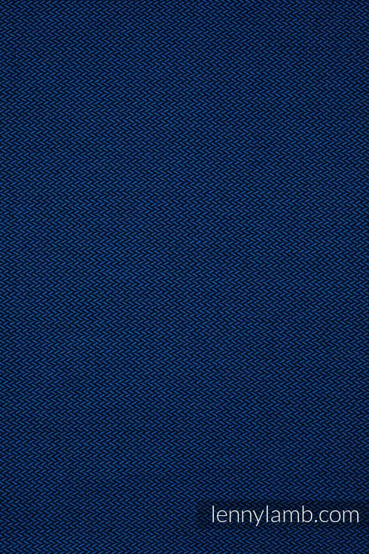 Écharpe de la gamme de base - COBALT, tissage herringbone, 100 % coton, taille XS #babywearing