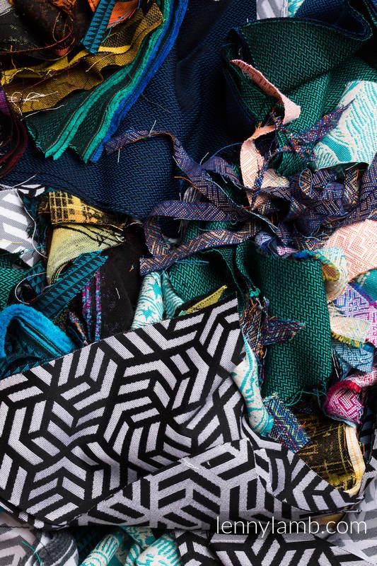 Small Scraps of Wrap Materials - 5kg #babywearing
