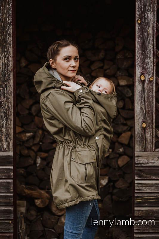 Parka Babywearing Coat - Khaki & Choice - size 6XL #babywearing