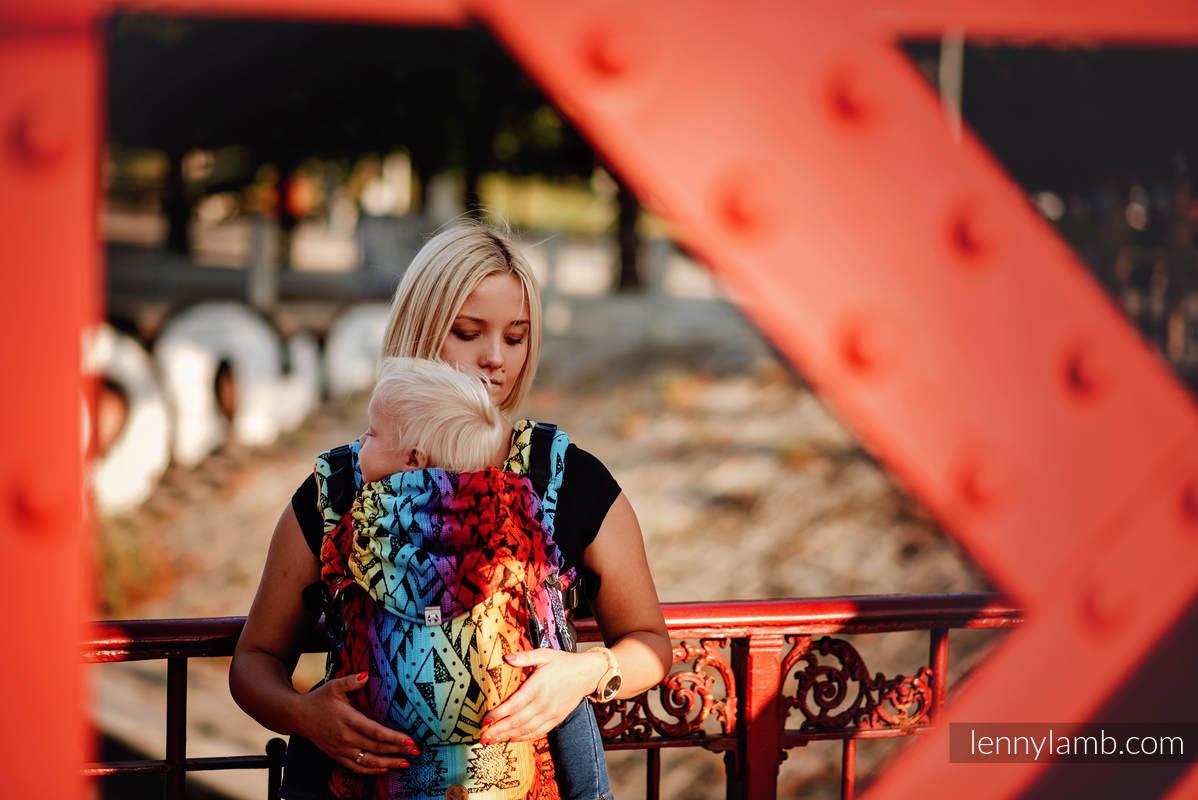 LennyUpGrade Carrier, Standard Size, jacquard weave 100% cotton - NOVA - INKAS - MAJA #babywearing