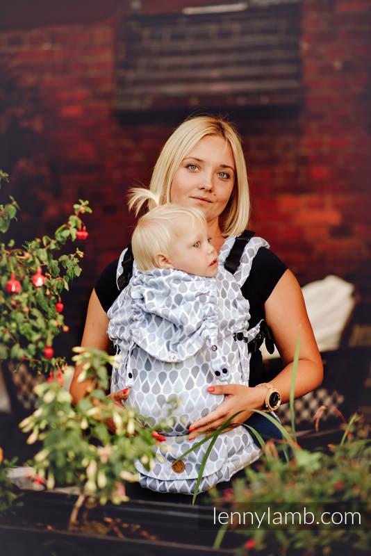 Nosidełko LennyUpGrade  z tkaniny żakardowej 100% bawełna , rozmiar standard - NOVA - RADOSNY CZAS - ANTEK #babywearing