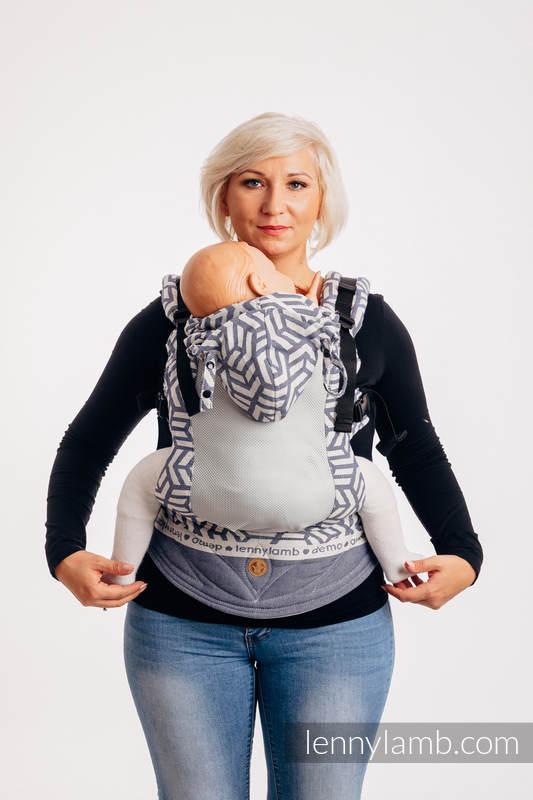 LennyGo Ergonomic Mesh Carrier, Baby Size, jacquard weave 86% cotton, 14% polyester- FOR PROFESSIONAL USE EDITION - CHERISH 1.0 #babywearing