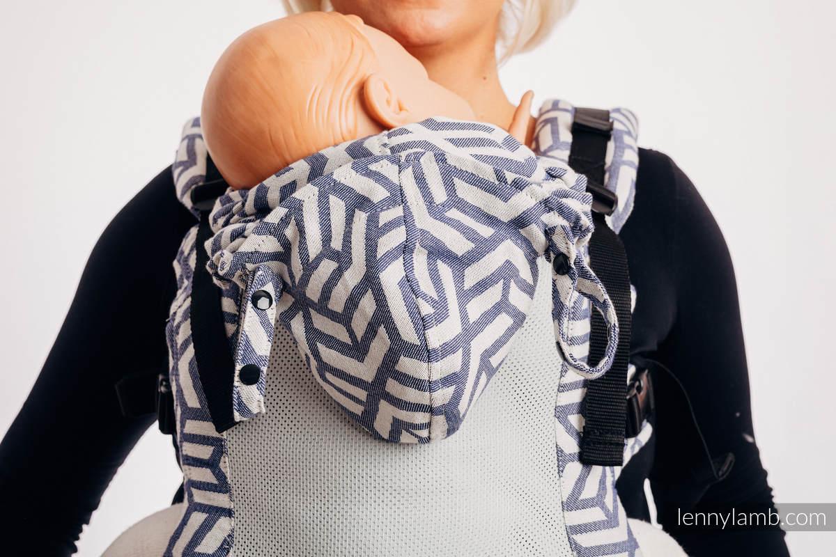 LennyGo Ergonomic Mesh Carrier, Baby Size, jacquard weave 86% cotton, 14% polyester- DIE AUSGABE FÜR PROFIS - CHERISH 1.0 #babywearing