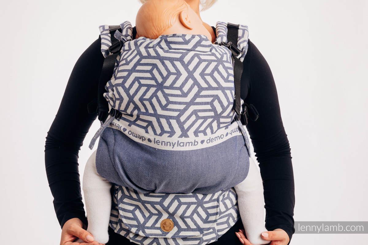 Mochila LennyUpGrade, talla estándar, tejido jaquard 100% algodón - conversión de fular - PARA USO PROFESIONAL - CHERISH 1.0 #babywearing