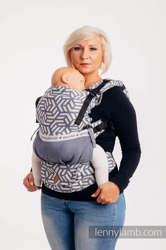 LennyUpGrade Tragehilfe, Größe Standard, Jacquardwebung, 100% Baumwolle - DIE AUSGABE FÜR PROFIS - CHERISH 1.0 #babywearing