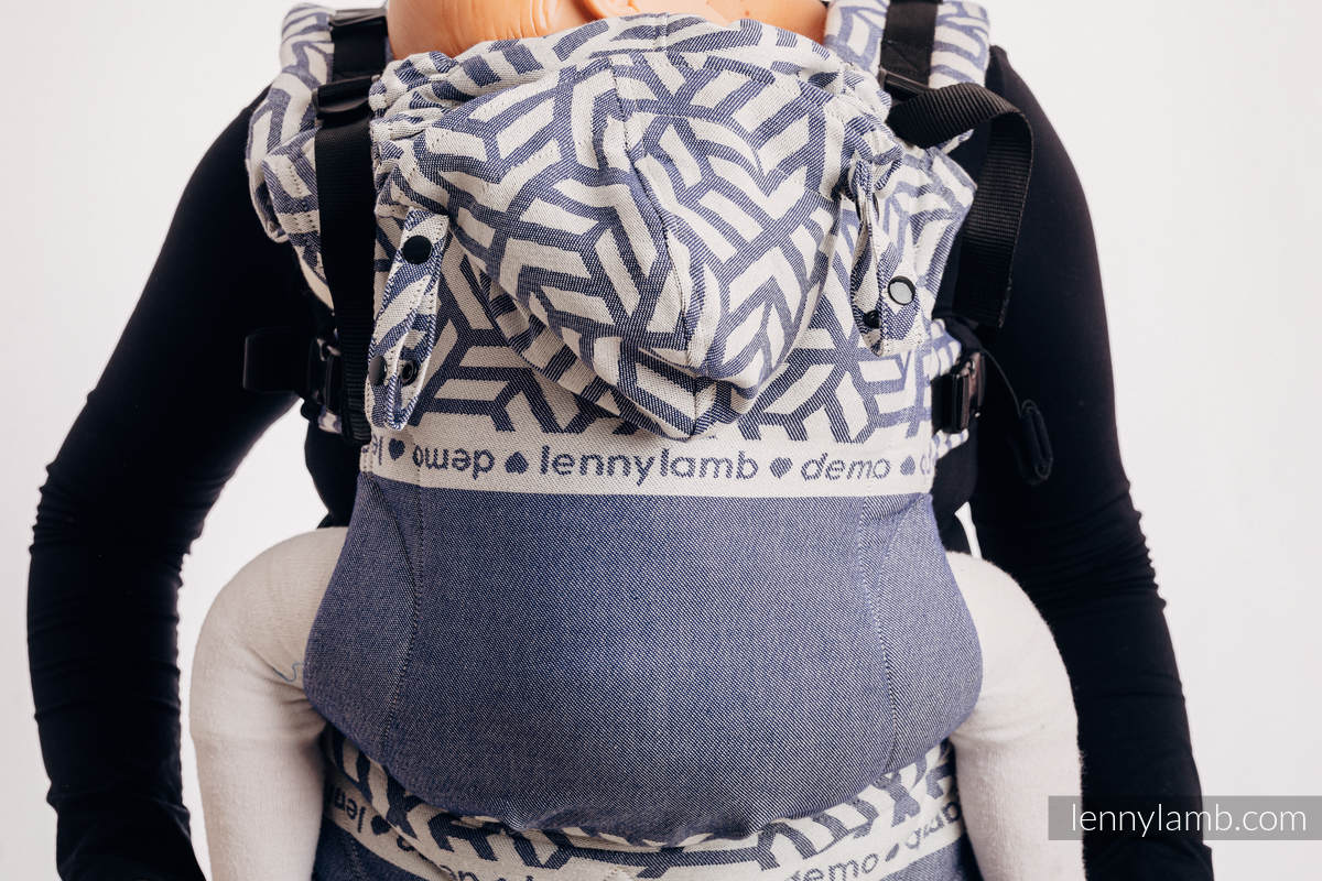 LennyGo Ergonomic Carrier, Baby Size, jacquard weave 100% cotton - FOR PROFESSIONAL USE EDITION - CHERISH 1.0 #babywearing
