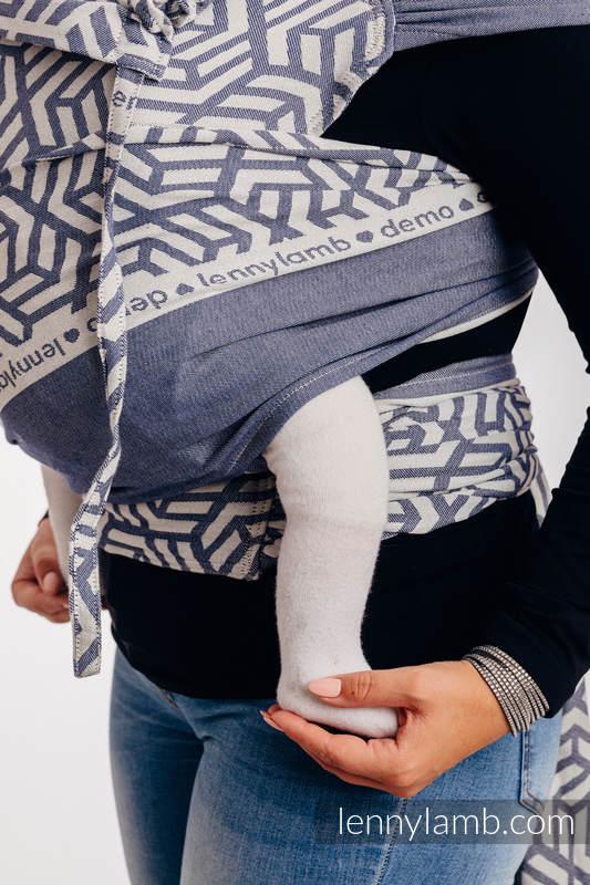 WRAP-TAI Tragehilfe Toddler mit Kapuze/ Jacquardwebung / 100% Baumwolle / DIE AUSGABE FÜR PROFIS - CHERISH 1.0 #babywearing