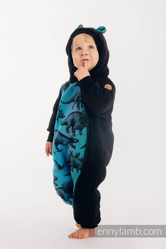 Bear Romper - size 92 - Black & Jurassic Park #babywearing