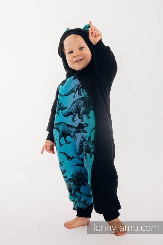 Bear Romper - size 110 - Black & Jurassic Park #babywearing