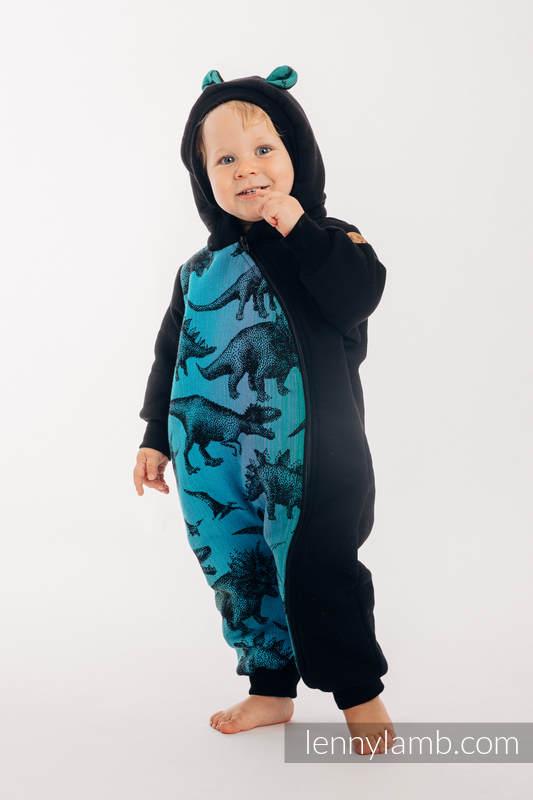 Bear Romper - size 104 - Black & Jurassic Park #babywearing