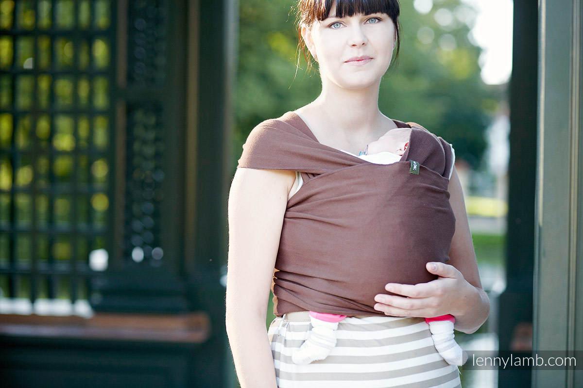 Chusta do noszenia dzieci, elastyczna - Topaz - rozmiar M #babywearing