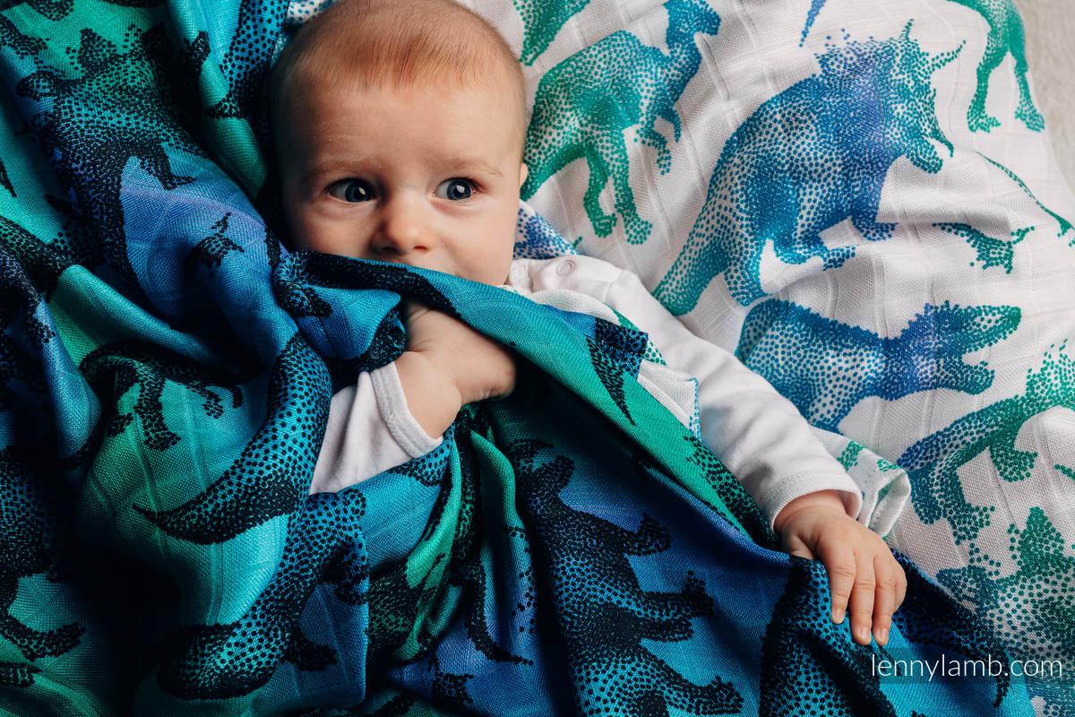 Swaddle Blanket - JURASSIC PARK #babywearing