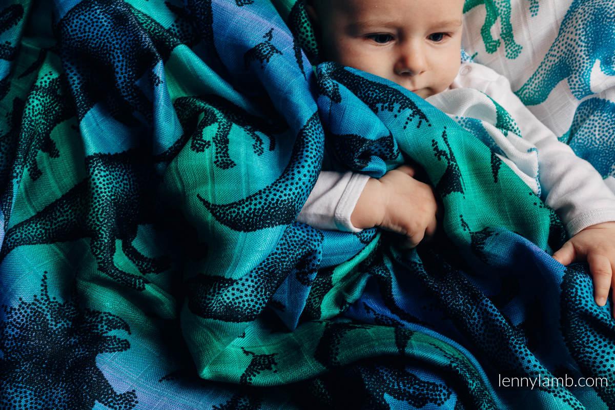 Pieluszka Bambusowa - PARK JURAJSKI #babywearing