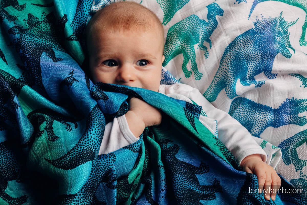 Otulacz Bambusowy Maxi - PARK JURAJSKI #babywearing
