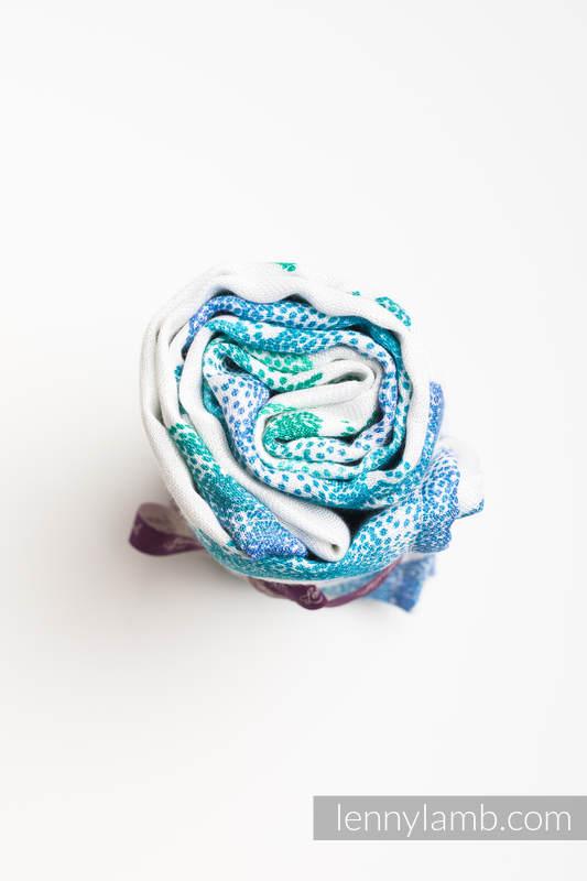 Swaddle Wrap Maxi - JURASSIC PARK White #babywearing