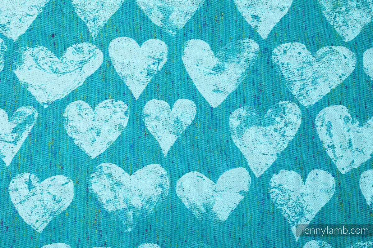 Baby Wrap, Jacquard Weave (80% cotton, 20% silk) - LOVKA - FLOW - size L #babywearing