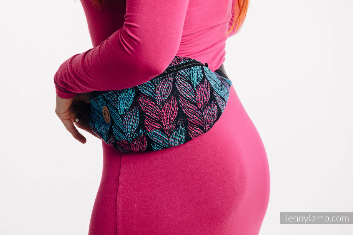 Waist Bag made of woven fabric, (100% cotton) - TANGLED IN LOVE #babywearing