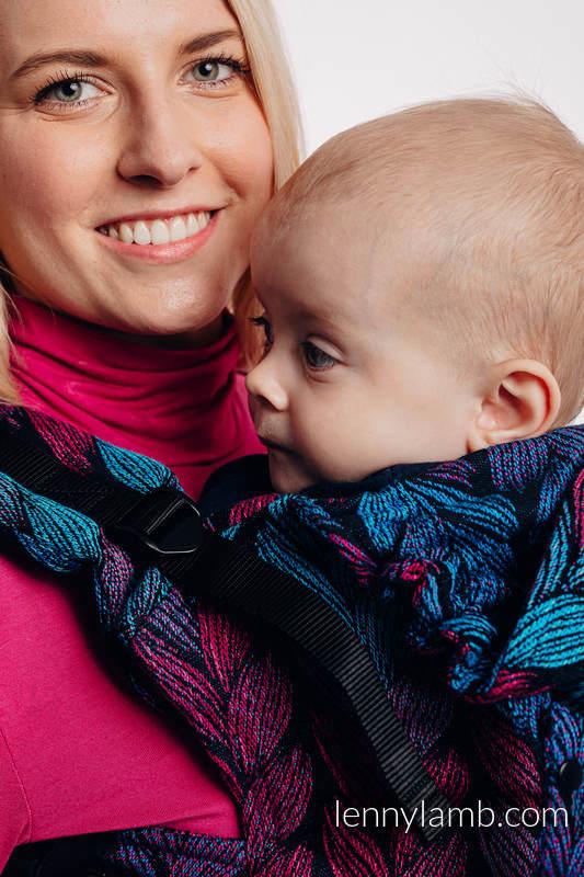 Nosidełko Ergonomiczne LennyGo z tkaniny żakardowej 100% bawełna , rozmiar Baby - ZAPLĄTANI W MIŁOŚĆ #babywearing