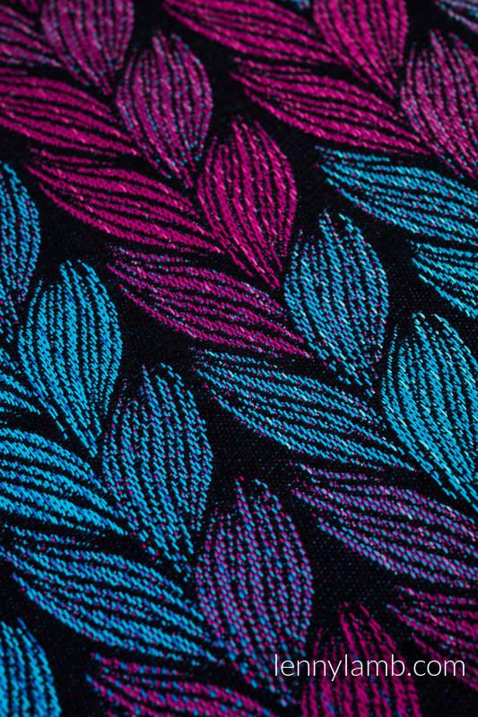 Żakradowa chusta do noszenia dzieci, 100% bawełna - ZAPLĄTANI W MIŁOŚĆ - rozmiar XL #babywearing