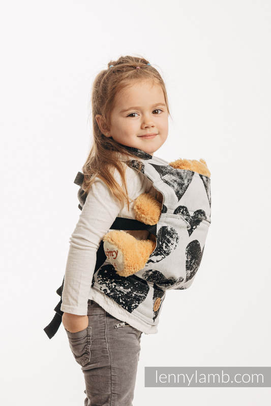 Doll Carrier made of woven fabric, 100% cotton - LOVKA CLASSIC   #babywearing