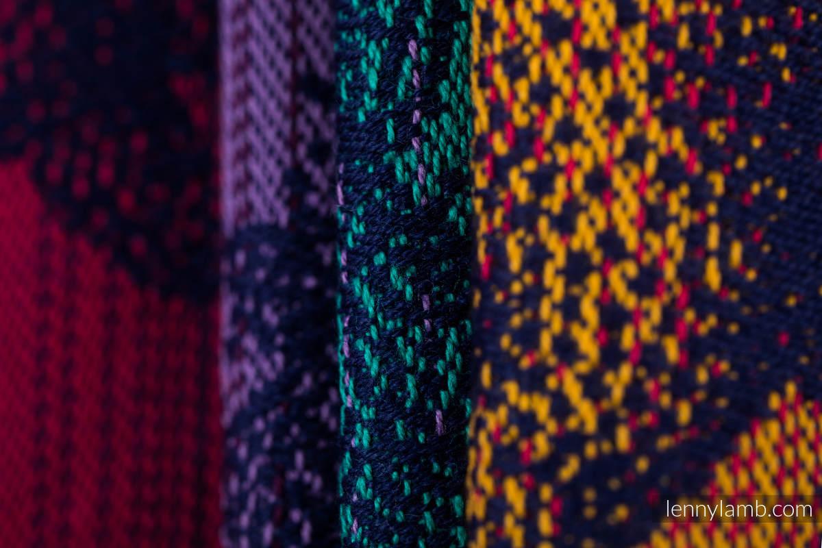 Fular, tejido jacquard (100% algodón) - JURASSIC PARK - NEW ERA - talla M (grado B) #babywearing