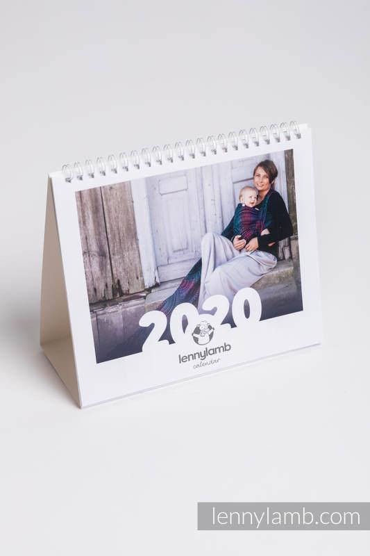 Desk Calendar 2020 (English Version) #babywearing