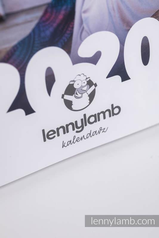 Kalendarz biurkowy spiralowany na rok 2020 (polska wersja) #babywearing