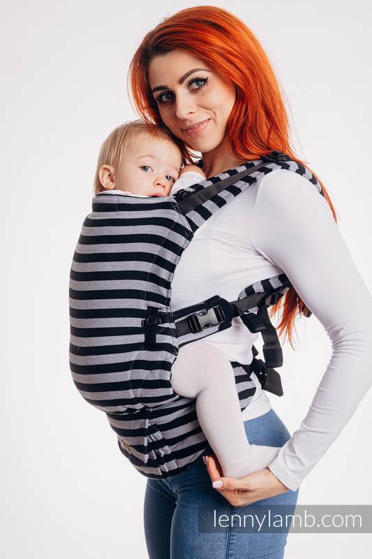 Nosidełko LennyUpGrade z tkaniny skośno-krzyżowej 100% bawełna , rozmiar standard - ŚWIATŁA I CIENIE #babywearing