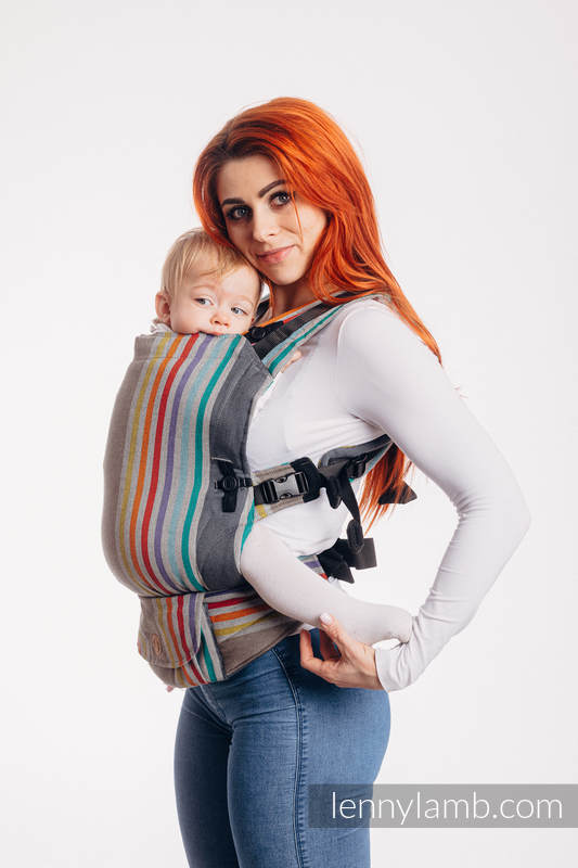 LennyUpGrade Carrier, Standard Size, broken-twill weave 100% cotton - OASIS #babywearing