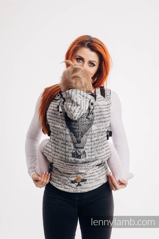 Nosidełko Ergonomiczne LennyGo z tkaniny żakardowej 100% bawełna , rozmiar Baby - LATAJĄCE MARZENIA #babywearing