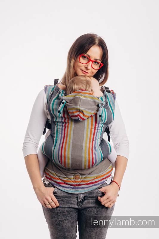 LennyGo Mochila ergonómica, talla toddler, sarga cruzada 100% algodón - OASIS #babywearing