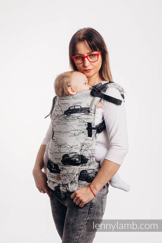 Nosidełko LennyUpGrade  z tkaniny żakardowej 100% bawełna, rozmiar standard - DROGI MARZEŃ #babywearing