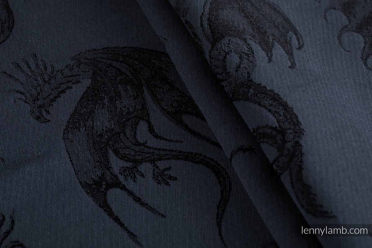LennyGo Ergonomic Carrier, Baby Size, jacquard weave 100% cotton - DRAGON - DRAGONWATCH #babywearing