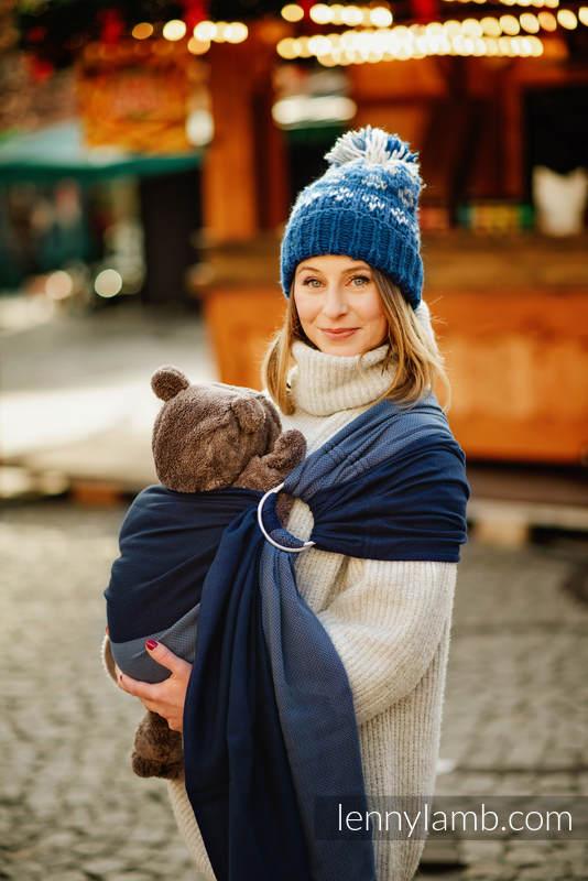 Chusta kółkowa, splot jodełkowy, (100% bawełna), ramię bez zakładek - NOVA - MAŁA JODEŁKA FRANEK  - standard 1.8m #babywearing