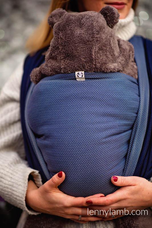 Chusta tkana, splot jodełkowy, (100% bawełna) - NOVA - MAŁA JODEŁKA FRANEK  - rozmiar XS #babywearing
