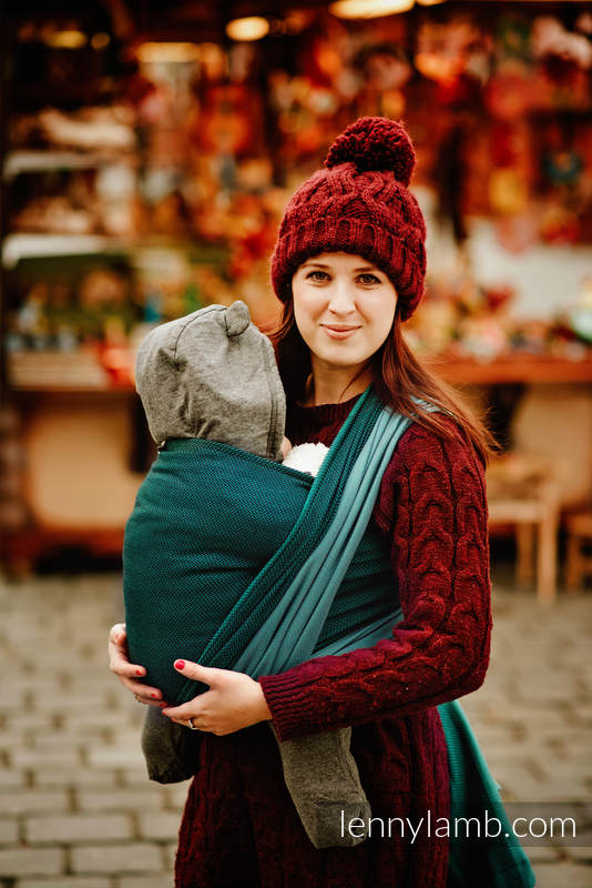 NOVA Salsa - Baby Wrap size XS (grade B) #babywearing