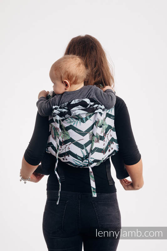 Lenny Buckle Onbuhimo baby carrier, standard size, jacquard weave (100% cotton) - ABSTRACT  #babywearing