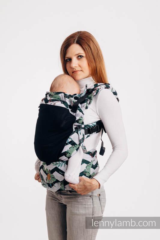 LennyUpGrade Mesh-Tragehilfe, Größe Standard, Jacquardwebung, 75% Baumwolle, 25% Poliester - ABSTRACT  #babywearing
