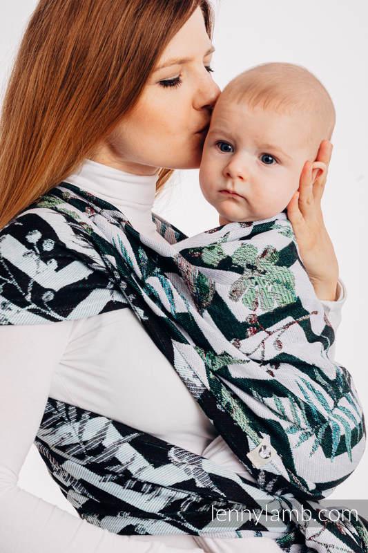 Żakardowa chusta do noszenia dzieci, 100% bawełna - ABSTRACT - rozmiar L (drugi gatunek) #babywearing
