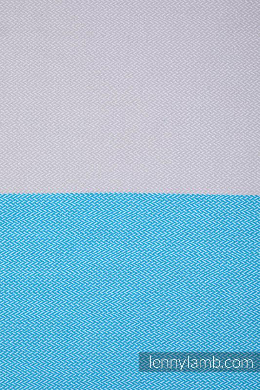 Basic Line Baby Sling, Herringbone Weave (100% cotton) - LITTLE HERRINGBONE LARIMAR - size S (grade B) #babywearing