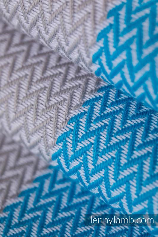 Basic Line Baby Sling, Herringbone Weave (100% cotton) - LITTLE HERRINGBONE LARIMAR - size XS #babywearing