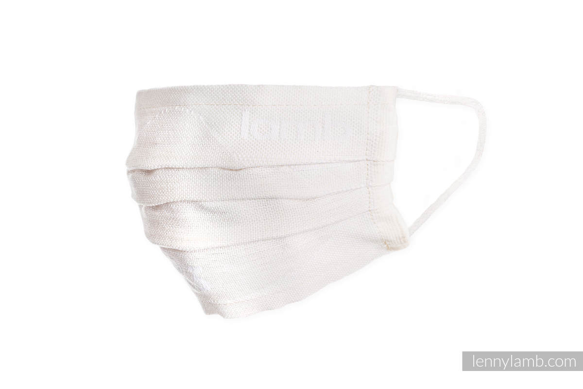 Set of 5 Face Masks - three layers - cotton #babywearing