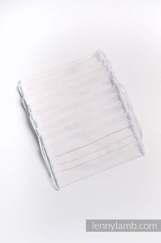 Set of 10 Face Masks - three layers - cotton #babywearing