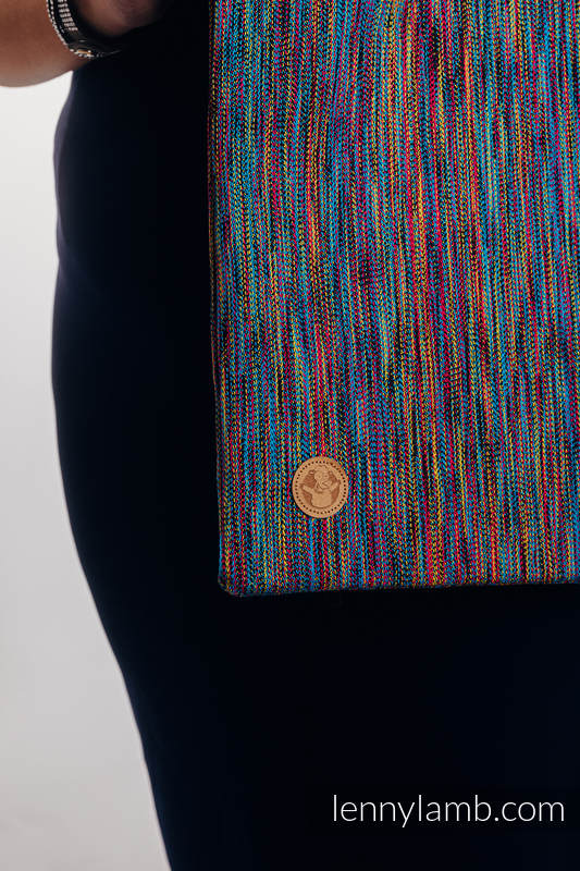 Shopping bag made of wrap fabric (100% cotton) - COLORFUL WIND  #babywearing