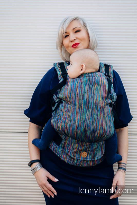 LennyUpGrade Tragehilfe, Größe Standard, Jacquardwebung, 100% Baumwolle - COLORFUL WIND #babywearing